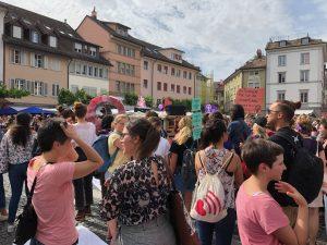 isvicre gündemi, isvicre haberleri, isvicre'de kadin grevleri, www.haberpodium.ch
