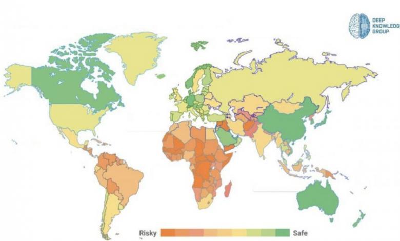 Koronavirüs'te en güvenli ülke İsviçre